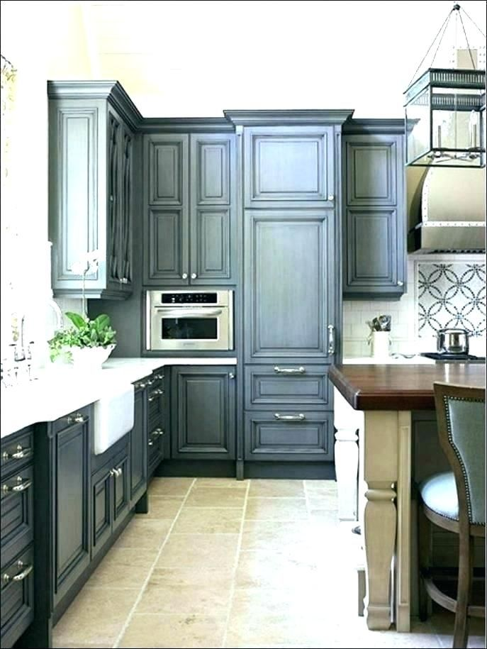 Navy Blue Kitchen Cabinets Distressed