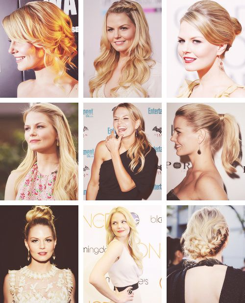 Jennifer Morrison always has great hair.