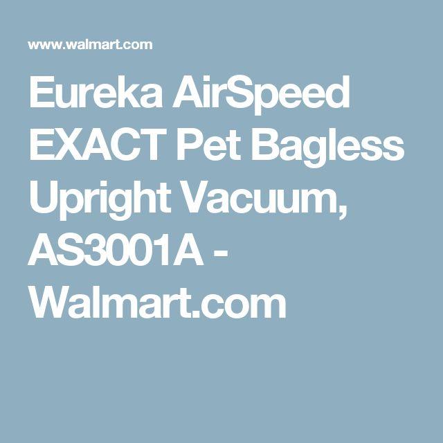 Eureka AirSpeed EXACT Pet Bagless Upright Vacuum, AS3001A - Walmart.com