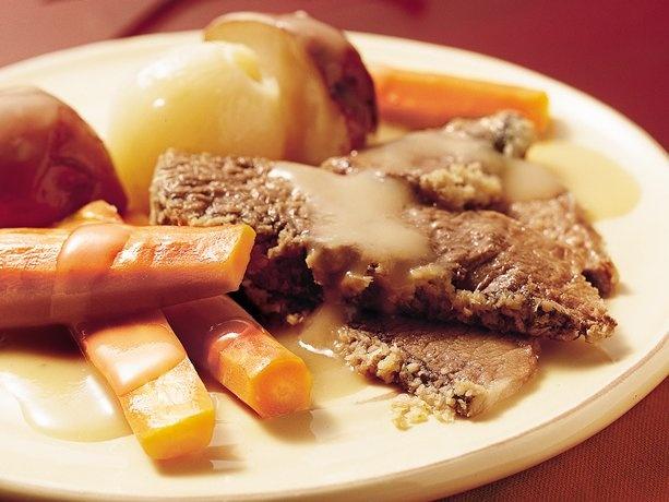 Slow Cooker New England Pot Roast
