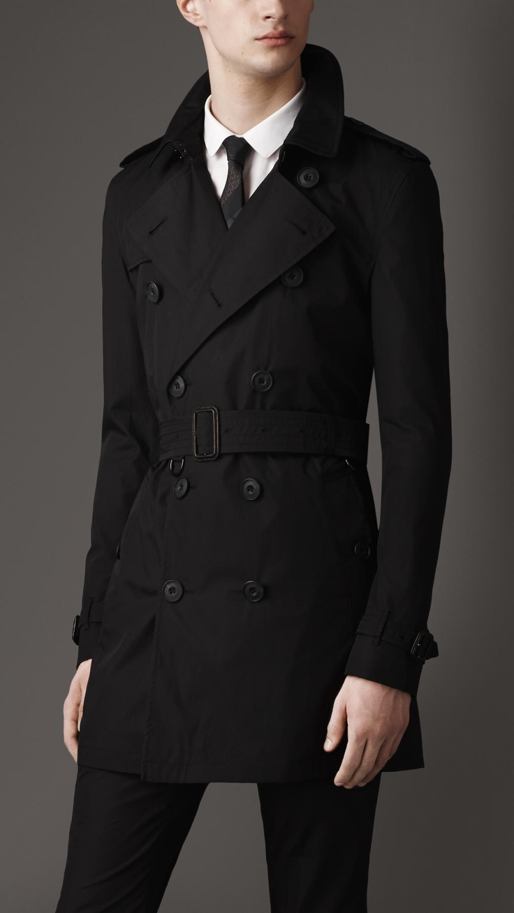 Mid-Length Parachute Cotton Trench Coat | Burberry