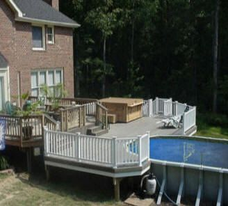 Best 25 Above Ground Pool Cost Ideas On Pinterest Deck