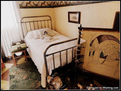 Museo Casa Mima. Ciudad de Guatemala. . 1800, donde habitó la familia Escobar Vega. Dormitorio