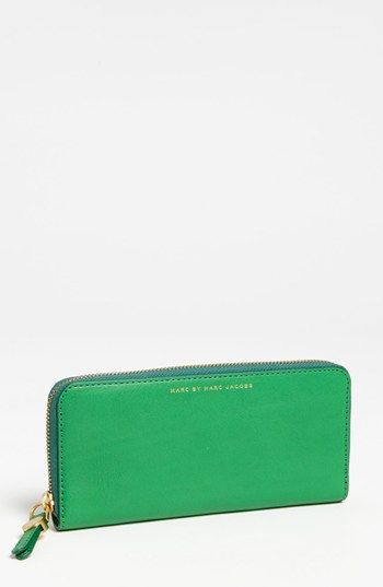 MARC BY MARC JACOBS 'Globetrotter' Slim Zip Around Wallet available at #Nordstrom