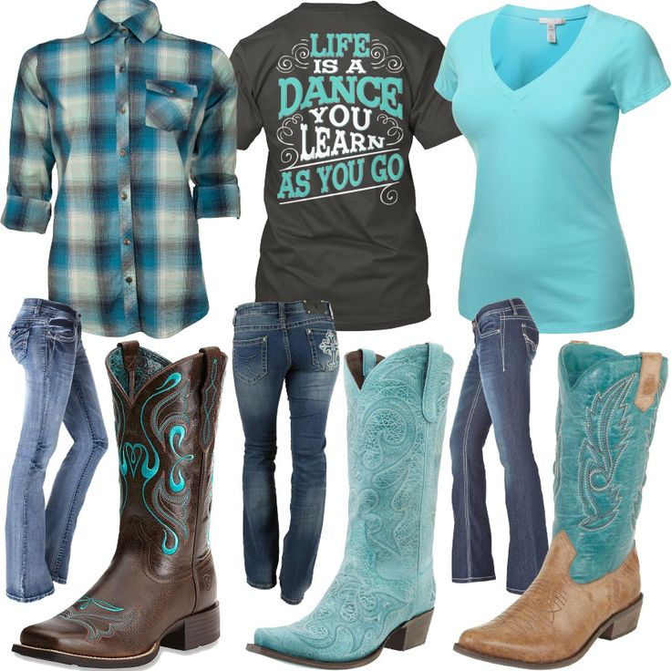Life Is A Dance Jeans Boots Outfit - Real Country Ladies