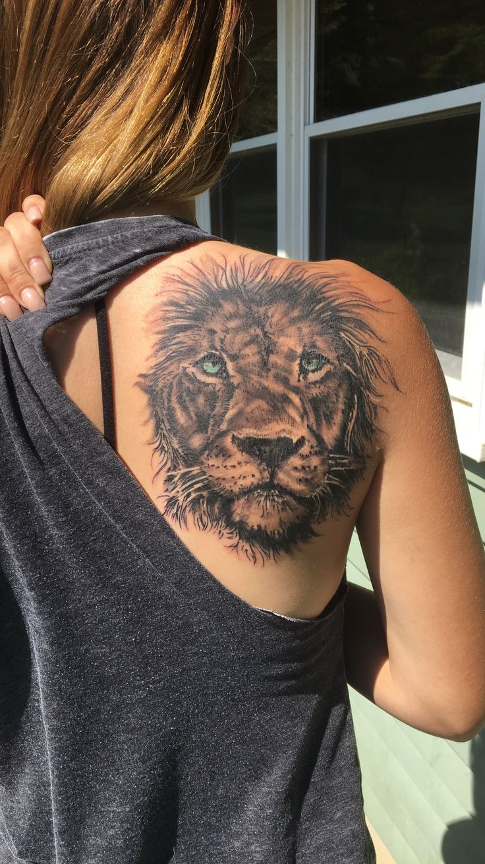 Best 25+ Lion tattoo g...