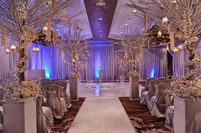 Winter Wedding Aisle Tents And Decore Pinterest