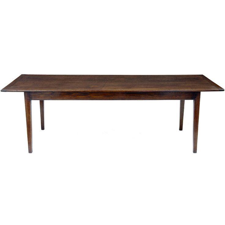 19th century english farmhouse table. Love the thin legs!