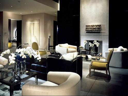 Strong, Feminine And Rich Details Along This Contemproary Living Room  Ambience. Love The Mustard