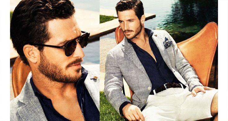 Sommarmode 2014 Herr - Massimo Dutti & HM, avslappnat men stiligt #mode #fashion #mensfashion #herrmode #stil #style #s14 #springsummer14 #summerfashion #sommarmode #sommar #sol #dressat #suit #Obsid
