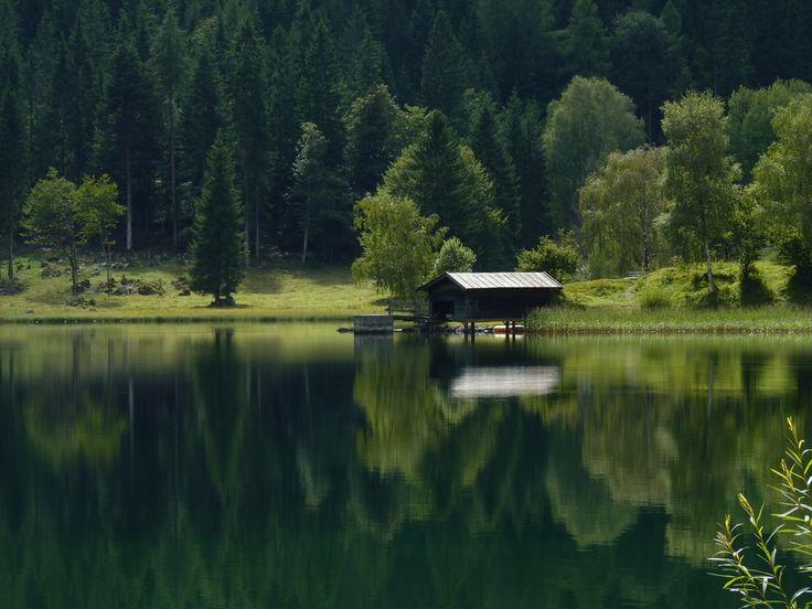 Hintersteiner See, Wilder Kaiser, Tirol. von Foto-Voltaik