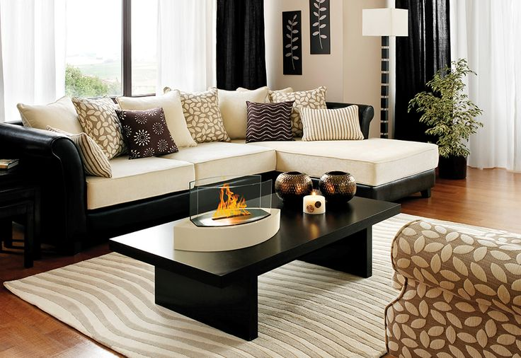 Set The Mood Anytime And Anywhere With The Tabletop Fireplace From