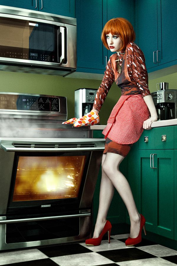 dinner's going to be a bit crispy tonight-----for blowe magazine by ruo bing li