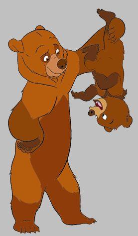 *KENAI & KODA ~ Brother Bear  #conceptart#disney #brotherbear