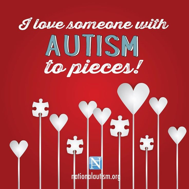 Happy Valentine S Day Autism Pinterest Autism