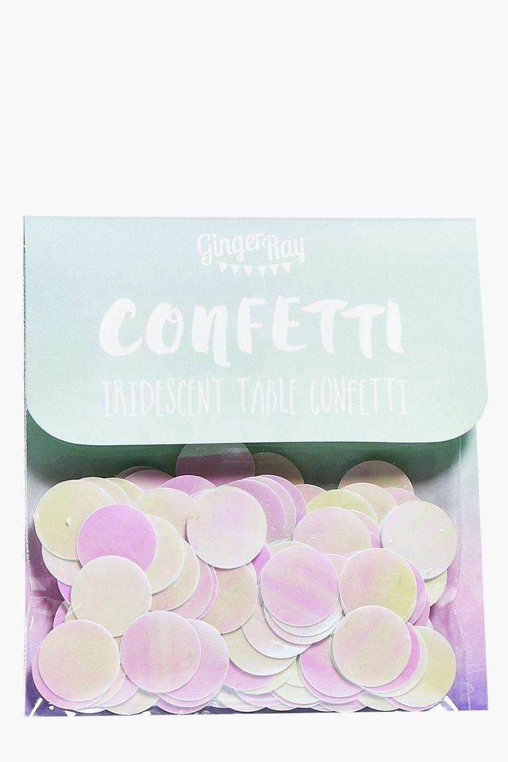 Confettis De Table Irisés