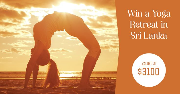 Win a Surf Yoga Bliss Retreat in Sri Lanka