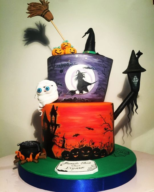 hallowen cake halloween cakeshalloween decorationsfall - Halloween Cakes Decorations