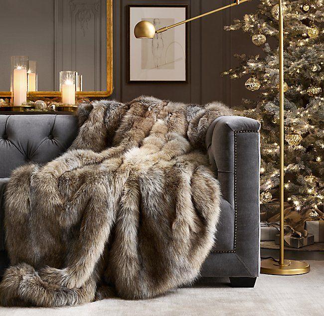 "Luxury Super Soft Warm Faux Fur Fleece Throw Blanket Rug Carpet Bed Sofa 60/""X80/"""