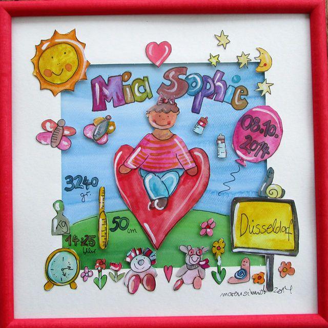 geschenk zur geburt - mia sophie 5091