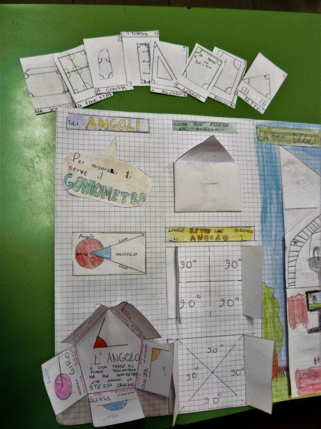 """La nostra compagna Sara ha costruito il lapbook: """"APRENDO, APPRENDO GLI ANGOLI"""" Lo ha costruito a casa in autonomia. Bravissima Sara! e, pronti per un ripassino geometrico? (cliccare su…"""