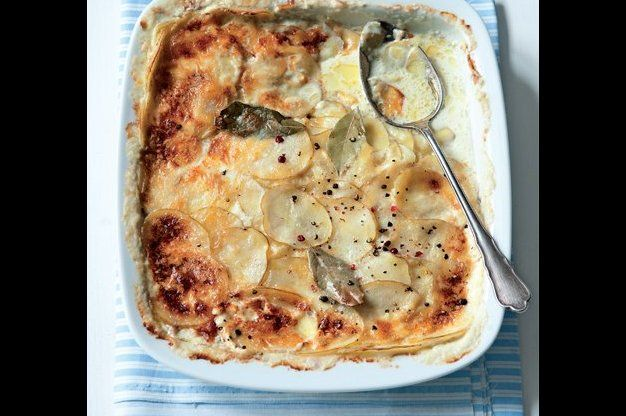 Lehké gratinované brambory