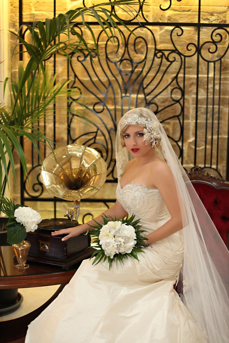 1930s Wedding Theme | the shoot took place at the phoenicia hotel a historic art deco hotel ...