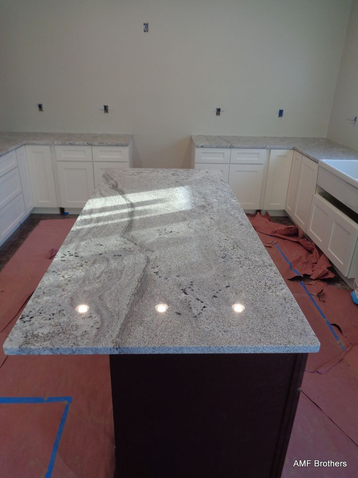 Andino White, Wheatfield In Granite Countertops Projects Installed November  2015 By AMF Brothers