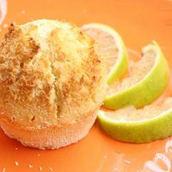 Muffin cocco e lime #italianrecipes #italianfood #recipes  #muffin #cupcake #lemon