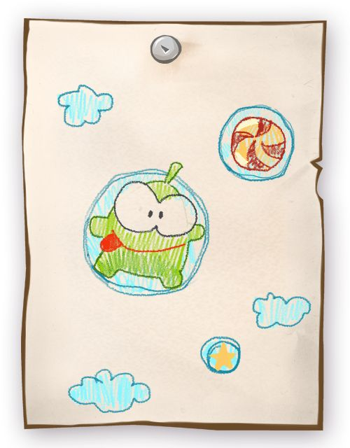 Candy - inspiration of great artists! Check out the latest sensation from Om Nom Drawings: