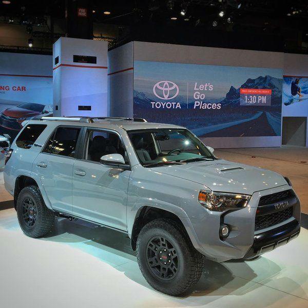 2017 Toyota 4Runner TRD Pro Release