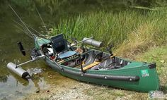 canoe modifications: I do not think I need a bolted on pool noodle rub rail, but this over done canoe has several good ideas.