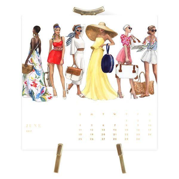 Fashion Illustration Calendar : Best images about inslee on pinterest oscar de la