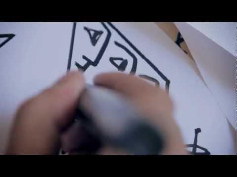 Straatkunstenaar Derlon Almeida is in zijn stad Recife aan het werk voor Converse.
