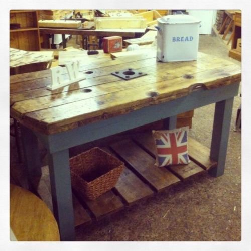 Shabby Chic Kitchen Island: 44 Best Cable Drum Ideas Images On Pinterest