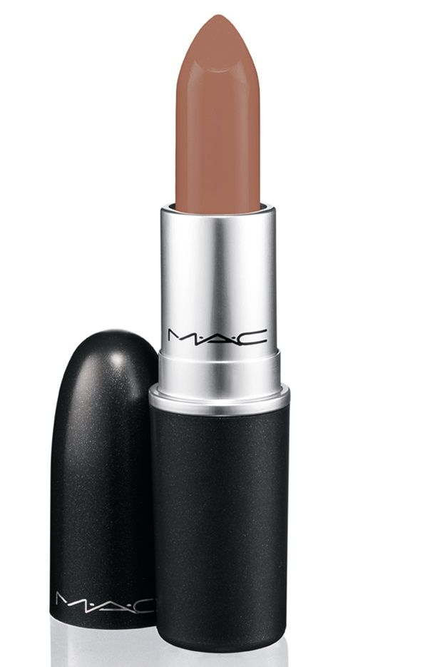 "MAC ""Yash"" for dark-skinned beauties. Wear with Cork lip liner."