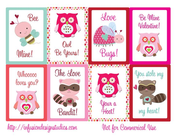 10 best images about Fun Valentines Day – Online Printable Valentine Cards