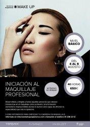 CURSO DE INICIACIÓN AL MAQUILLAJE PROFESIONAL (INTENSIVO DE VERANO) ^_^ http://www.pintalabios.info/es/cursos_de_moda/view/es/440 #ESP #Curso #Maquillaje