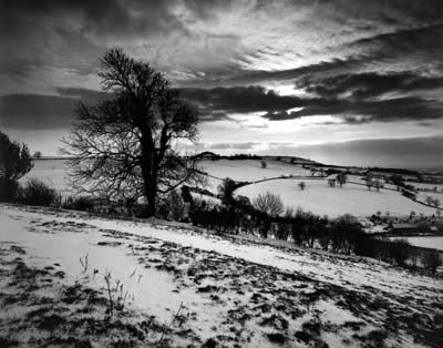 Towards an Iron Age hill fort, Somerset 1991 by Don Mccullin from his Changes in England series