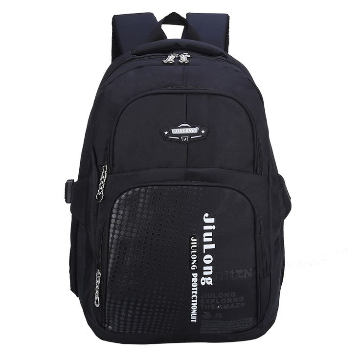 New leisure section Nylon high-capacity durable School Bag junior high school Student burdens Backpack Double Shoulder Bookbag