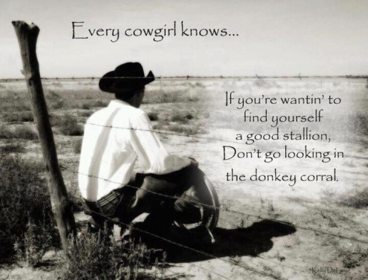 Every Cowgirl Knows...Thoughts, Cowgirls, Except, Country Girls, Donkeys, Tornar- Cowboy, So True, Love Quotes, True Stories