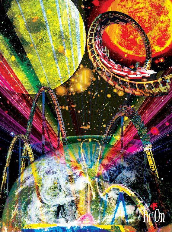 Cosmos The Ride Trip Jigsaw Puzzle  Hi' On Puzzles by HiOnPuzzles