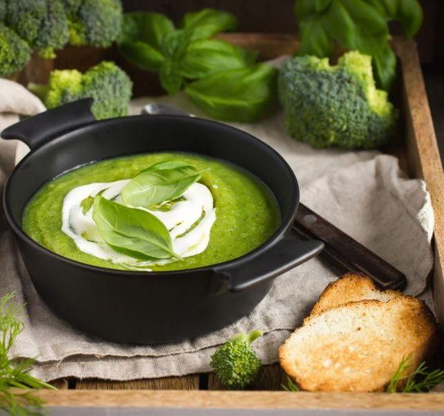 Recept Brokolicová polévka se smetanou