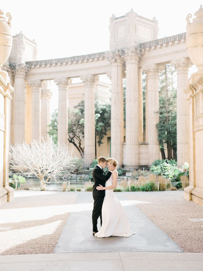 Palace of Fine Art European Wedding Inspiration.  Photo by Tenth and Grace