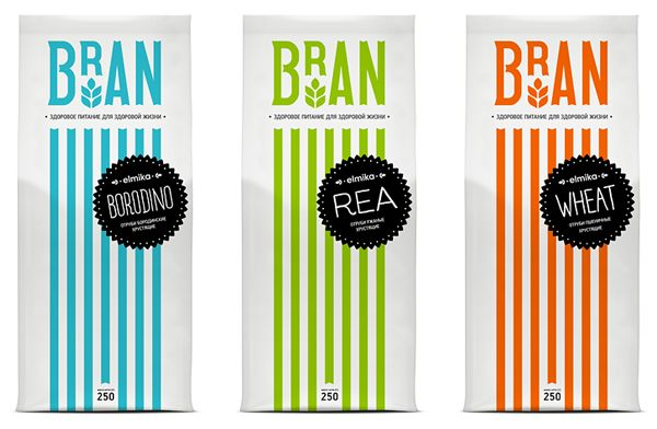 Bran and Crisp are sub-brands of Elmika, a range of wheat products