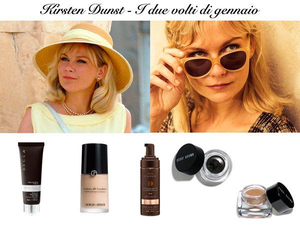 Scelte all'insegna della durata e resistenza del make up al calore: http://www.oggialcinema.net/kirsten-dunst-make-up-i-volti-di-gennaio/
