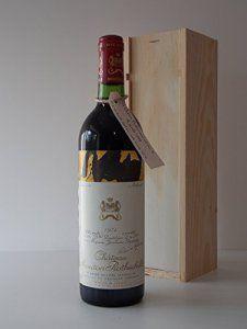 Coffret anniversaire 42 ans Ch. Mouton rothschild 1974 Grand cru classe Pauillac