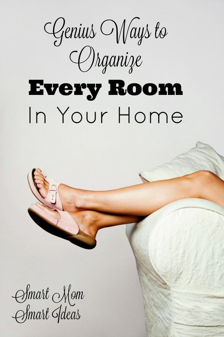 Genius Ideas to organize every room in your home | home organization tips | organized home | home organization ideas