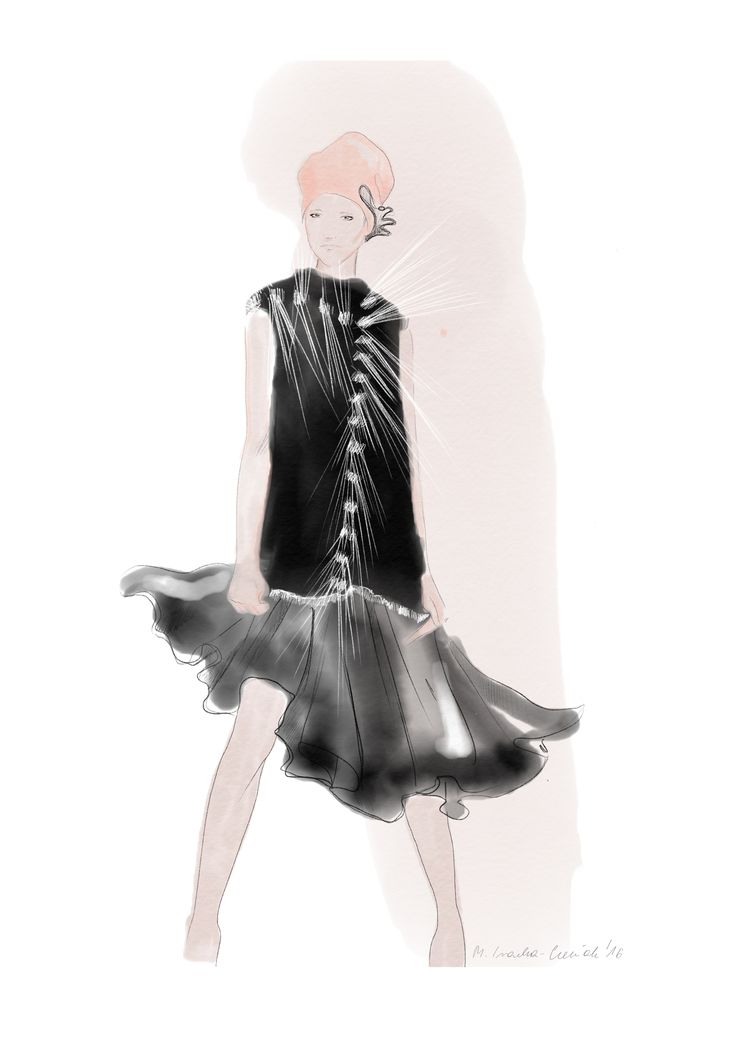 Małgorzata Iracka Fashion Illustration