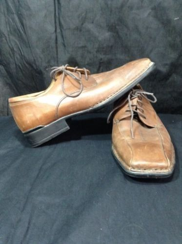 Rockport Shoes size 9.5m Kinetic Air Circulator Mens soft brown leather #Rockport #Oxfords